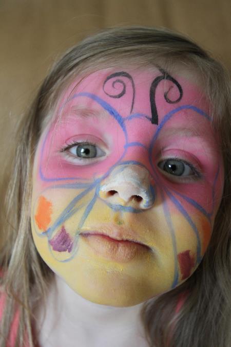 Детский макияж на Хэллоуин