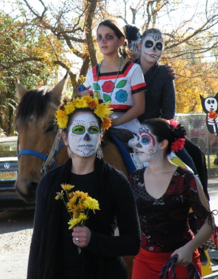 Семейный праздник Хэллоуин