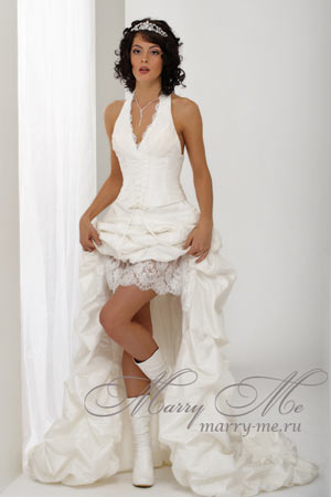 Короткие свадебные платья. Преимущества коротких свадебных платьев
