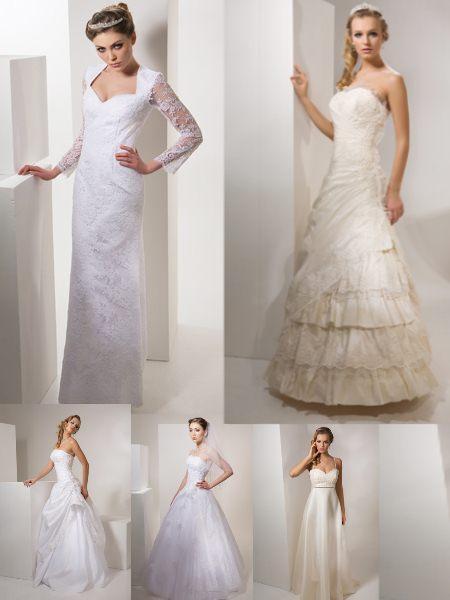 Свадебные платья из коллекции Одиссея