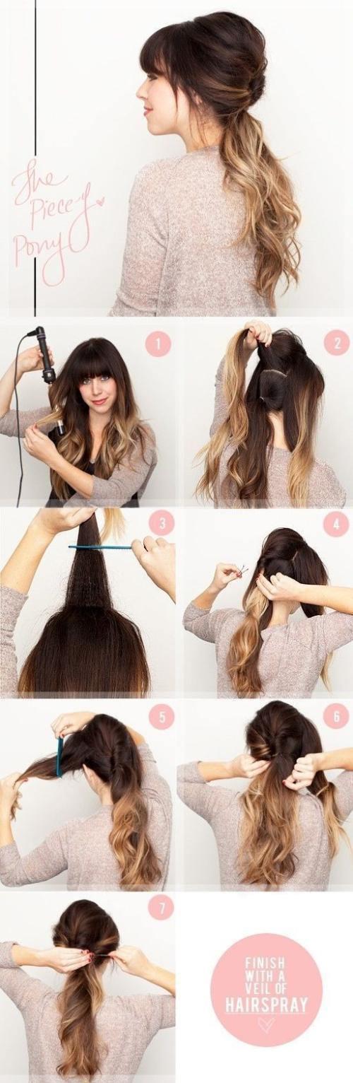 Причёски своими руками для девушек