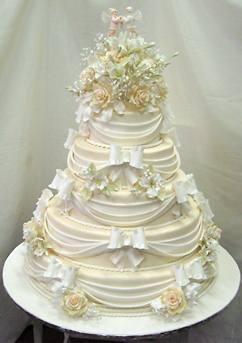 Свадебный торт в Европе